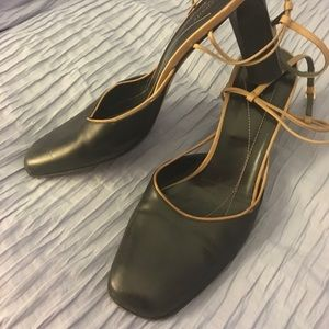 "kade spade Ladies Black Heels 3 1/2"" Size 10M"
